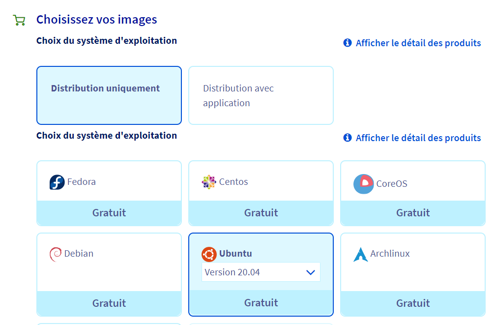 Achat VPS OVH